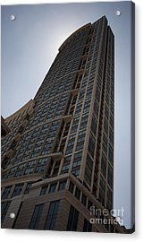 Acrylic Print featuring the photograph City Architecture by Miguel Winterpacht
