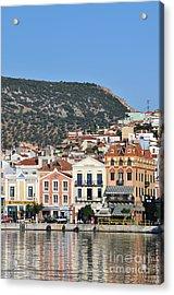 City Of Mytilini Acrylic Print by George Atsametakis