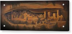 Cliff Palace Acrylic Print by Jerry McElroy