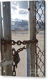 Closed Factory Acrylic Print