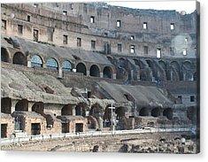 Coloseum Acrylic Print by Dick Willis