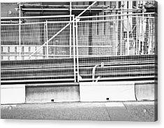Construction Site Acrylic Print by Tom Gowanlock