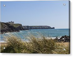 Cornish Seascape Gunwalloe Acrylic Print