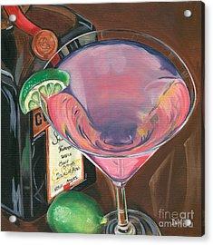 Cosmo Martini Acrylic Print by Debbie DeWitt