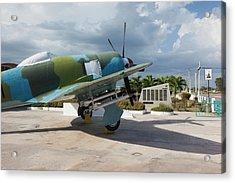 Cuba, Matanzas Province, Playa Giron Acrylic Print by Walter Bibikow