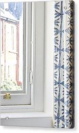 Curtain Acrylic Print