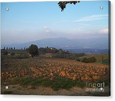 Dawn In Loppiano Acrylic Print