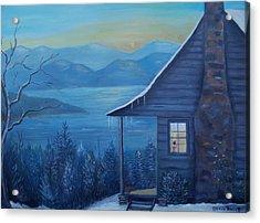 Daybreak Acrylic Print by Glenda Barrett