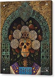 Dia De Muertos Madonna Acrylic Print