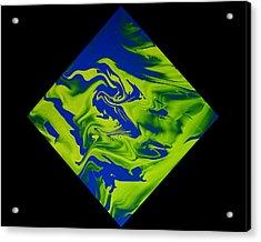 Diamond 210 Acrylic Print by J D Owen