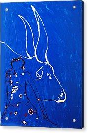 Dinka Livelihood - South Sudan Acrylic Print