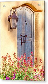 Doors Of Santa Fe Acrylic Print by Roselynne Broussard