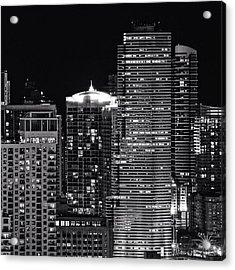 Downtown - Miami Acrylic Print