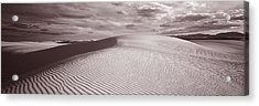 Dunes, White Sands, New Mexico, Usa Acrylic Print by Panoramic Images