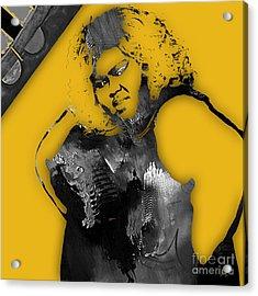 Empire's Gabourey Sidibe Becky Acrylic Print by Marvin Blaine
