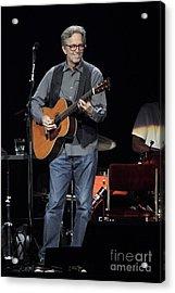 Eric Clapton Acrylic Print by Concert Photos