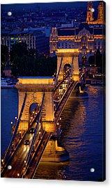 Europe, Hungary, Budapest Acrylic Print