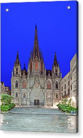 Europe, Spain, Catalonia, Barcelona Acrylic Print by Rob Tilley