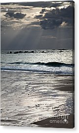Evening At The Sea Acrylic Print
