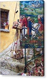 Eze Tapestry Acrylic Print by David Nichols