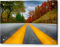 Acrylic Print featuring the photograph Fall Colors by Jerome Lynch
