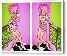 Fashion Girls Acrylic Print
