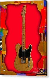 Fender Telecaster Collection Acrylic Print