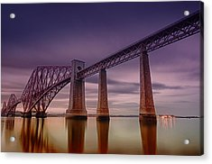 Forth Rail Bridge Acrylic Print