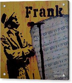 Frank Acrylic Print