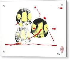 Fugu Ichi Acrylic Print by Roberto Prusso