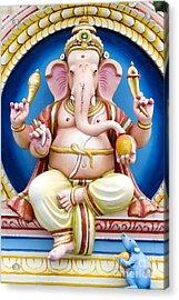 Ganesha Acrylic Print by Tim Gainey