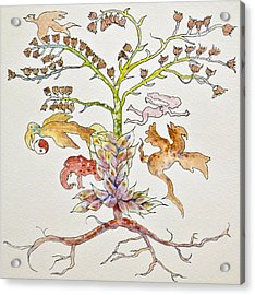Garden Of Eve Acrylic Print