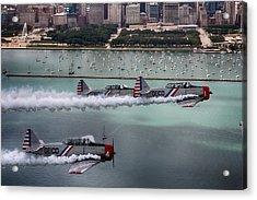 Geico Skytypers Acrylic Print