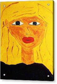 Girl Acrylic Print by Bamhs Blair