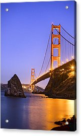 Golden Gate Bridge Acrylic Print by Emmanuel Panagiotakis
