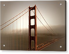 Lovely Golden Gate Bridge Acrylic Print