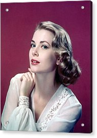 Grace Kelly Acrylic Print by Silver Screen