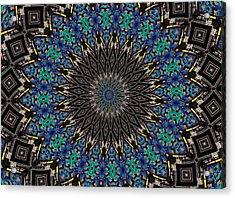Graffiti - Galaxee Kaleidoscope Acrylic Print