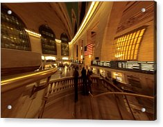 Grand Central Station Acrylic Print by Dan Sproul