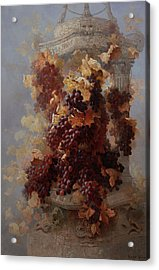 Grapes And Architecture Acrylic Print