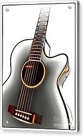 Guitar Acrylic Print by Walt Foegelle