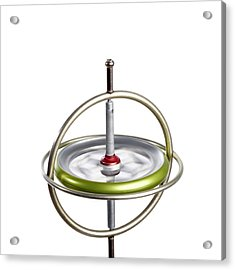 Gyroscope Acrylic Print by Science Photo Library