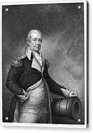 Henry Knox (1750-1806) Acrylic Print by Granger