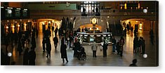 High Angle View Of A Group Of People Acrylic Print by Panoramic Images