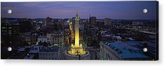 High Angle View Of A Monument Acrylic Print by Panoramic Images