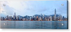 Hong Kong Morning Acrylic Print