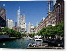 Illinois, Chicago Acrylic Print