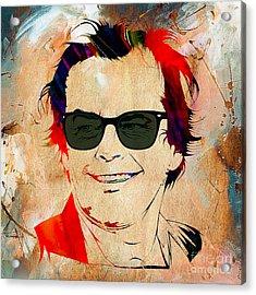 Jack Nicholson Collection Acrylic Print