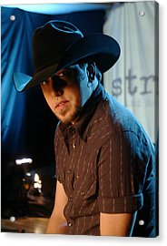 Jason Aldean Acrylic Print by Don Olea