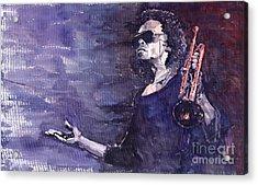 Jazz Miles Davis Acrylic Print